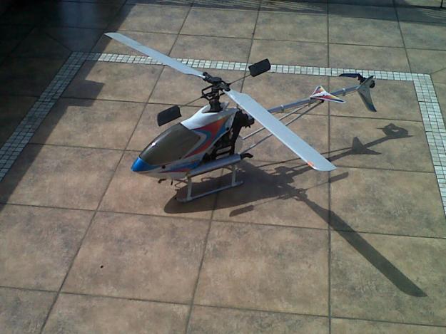 Hirobo 50/T9CP RADIO/REAL FLIGHT SIMULATOR