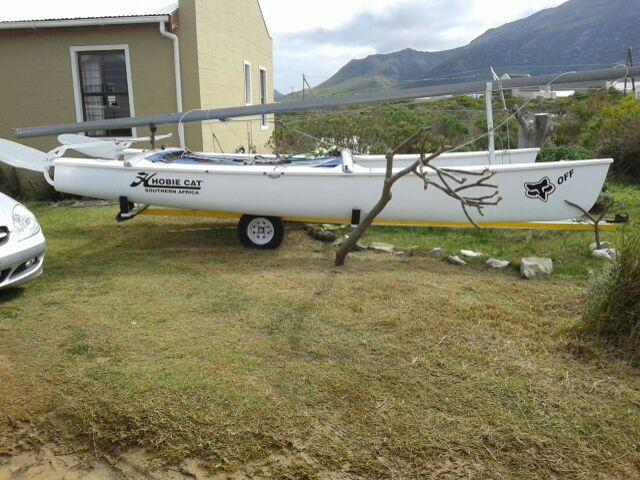 Hobie 18 catamaran for sale. Solid cat with recon