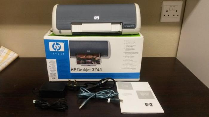 HP Deskjet 3745 colour printer