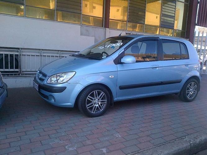 HYUNDAI GETZ 2006 WITH MAGS GOOD CONDITION BARGAIN R54