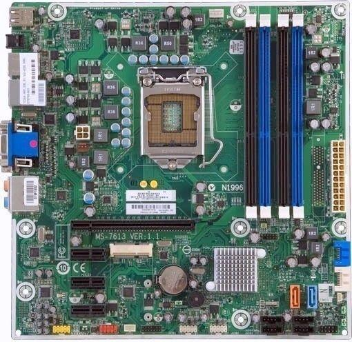 i3 plus HP motherboard with 2S/PDIF optical output for