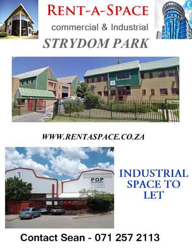 Industrial space to rent