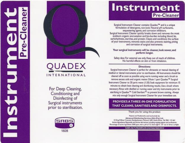 Instrument Pre-Cleaner - Easy Dose Container - 1 Liter