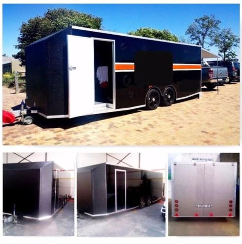 Insulated trailers, Mobile Food trailers, Refrigerated