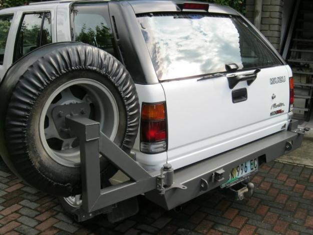 Car Carrier For Sale >> Isuzu Frontier rear bumper with spare wheel carrier for Sale in Port Elizabeth, Eastern Cape ...