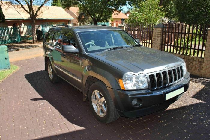 jeep grand cherokee v8 hemi limited for sale in vereeniging gauteng classified. Black Bedroom Furniture Sets. Home Design Ideas