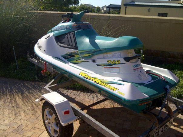 Jet Ski Yamaha Waveblaster 1997 model for Sale in Melkbosstrand