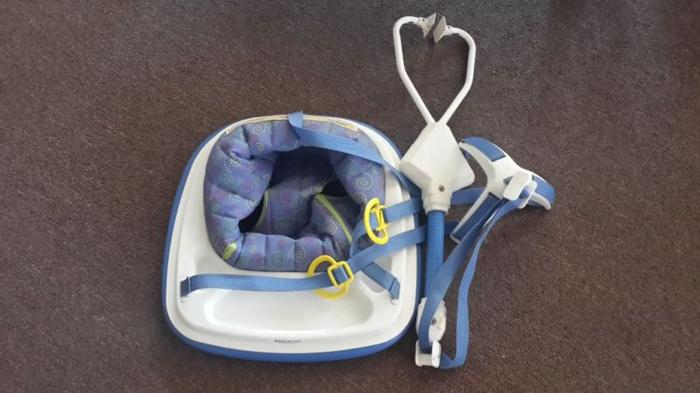 Jolly jumper, Bumbo seat and Walking ring