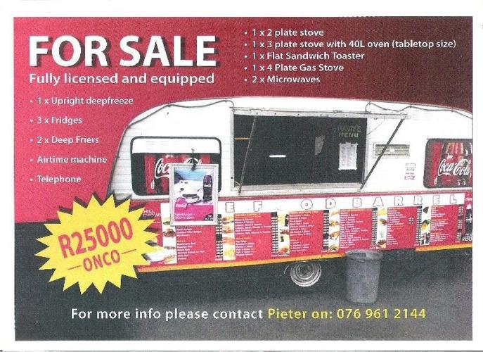 Jurgens Caravan for sale! for Sale in Melkbosstrand, Western