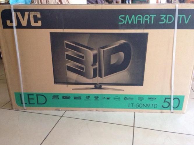 Jvc smart 3D tv and Sony Bravia Led