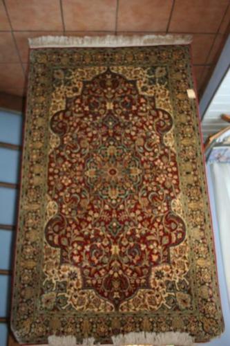Kashan silk Kashmiri carpet