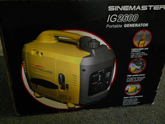 Kipor IG2600 Sinemaster Inverter 2 6kVA Generator R9000 for Sale in