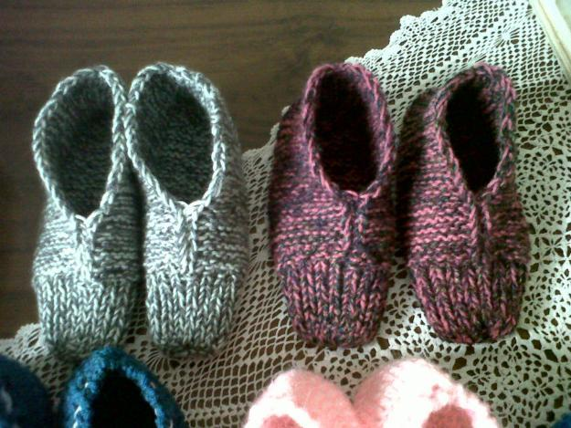 Knitting Pattern For Ladies Bed Socks : Knitted Bed Socks / Slippers for Sale in Durban, KwaZulu-Natal Classified S...