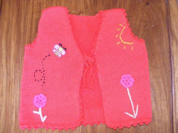 knitting jacket cotton blend