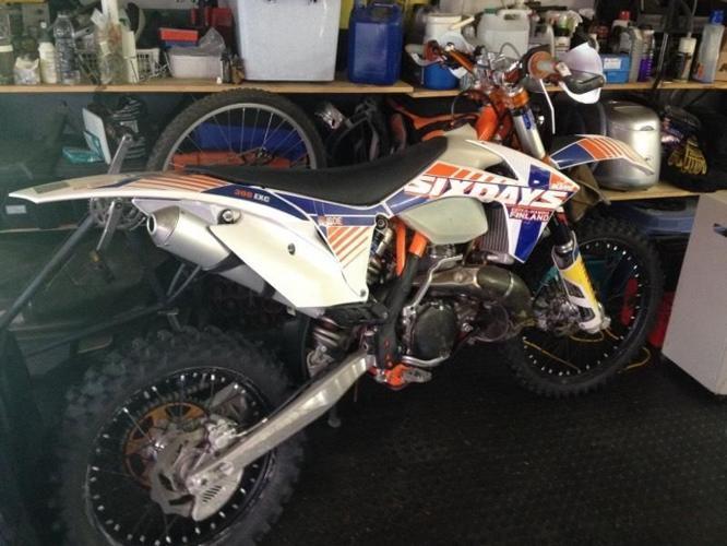 KTM 300 Six Days 2012
