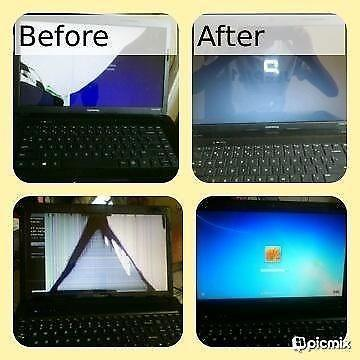 Laptop screens replacement mobile services and call out