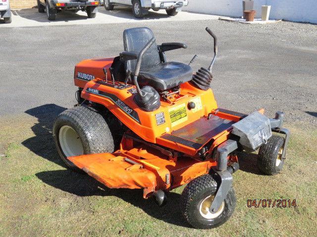 Lawn Mower Kubota ZD 21- Zero Turn- Ride On Mower