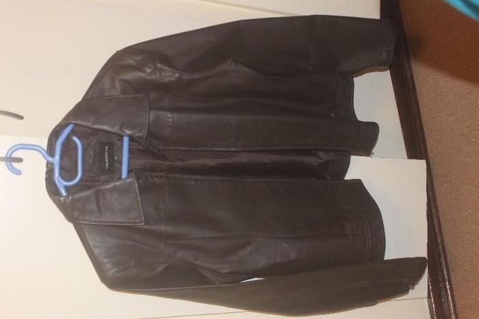 Leather Jacket Size 38