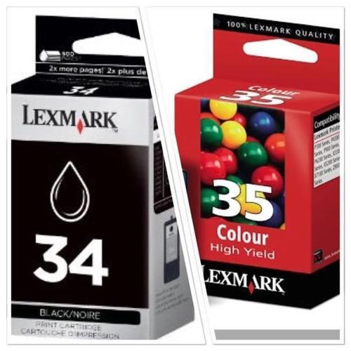 Lexmark #34 & #35 Ink Cartridges for Sale!!!!