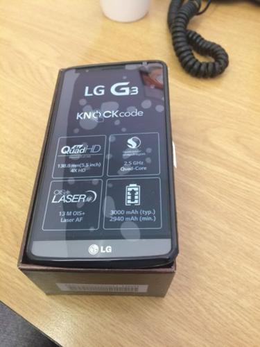 LG G3 32gig 3g Ram Titanium with Proof of Purchase -