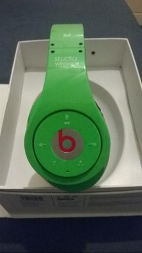 Lime Green Wireless Beats By Dre Studio Headphones For Sale In