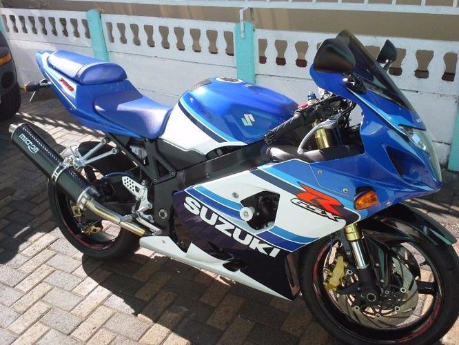 Limited edition 2005 K5 Suzuki GSXR 750 20th Anniversary