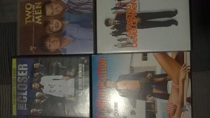 LOT OF 4 TV SERIES.ARRESTED