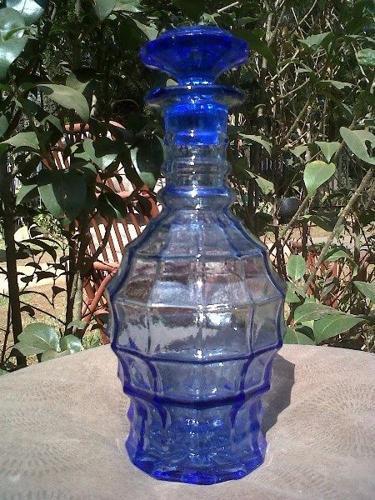 Lovely Blue glass Decanter