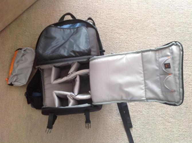 Lowepro Fastpack 350 Camera and Laptop Backpack -