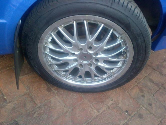 mags and nuwe tires