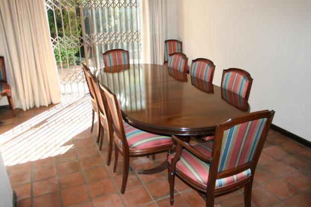 Mahogany 10 Seater Dining Room Suite For Sale In Johannesburg Gauteng Classi