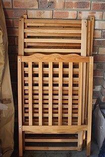 Mamas n Papas wooden cot