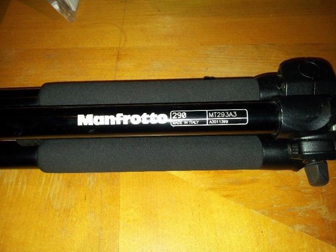 Manfrotto A293A3 Aluminium Tripod