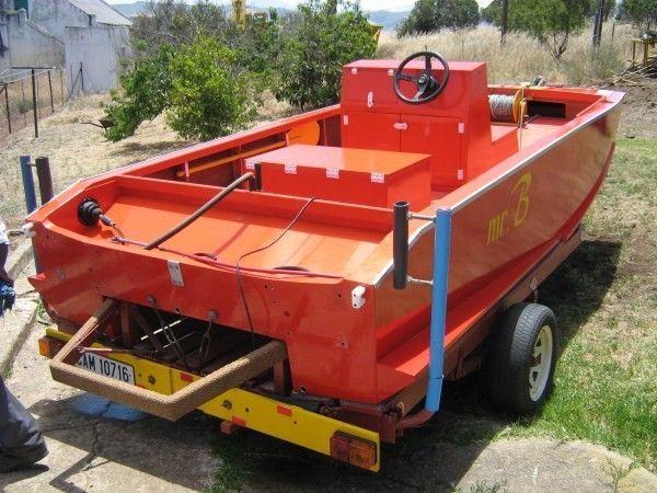 Marine ply boat