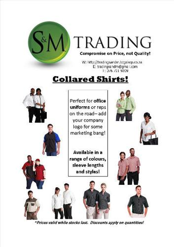 Men's corporate shirts- Huge range available!