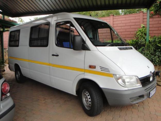 Mercedes benz sprinter campervan for sale in pretoria for Mercedes benz sprinter campervan for sale