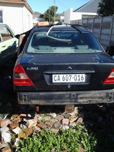 Mercedes Benz W202 Bootlid And Rear Lights For Sale