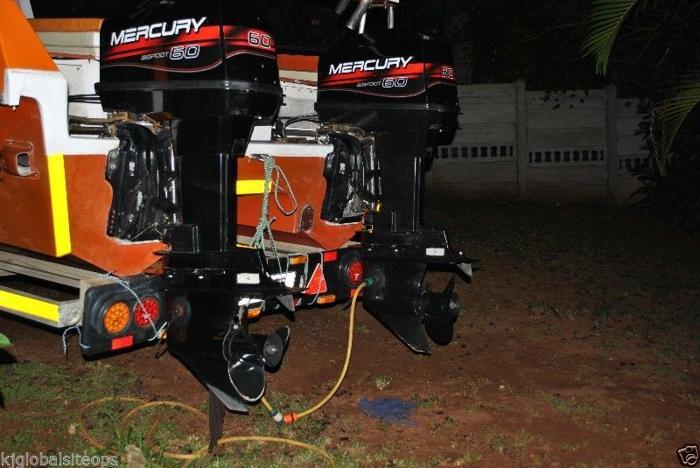 Mercury 60hp Bigfoot trim and tilt