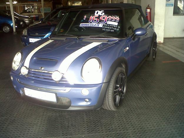 Mini Cooper S Cnvertable- Immaculate Car