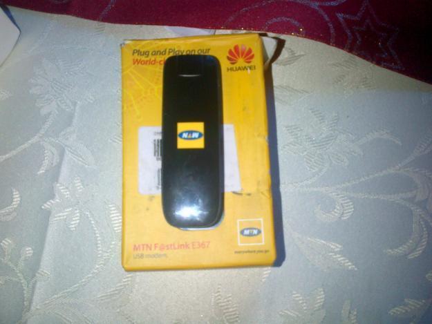 mtn fastlink e367usb modem
