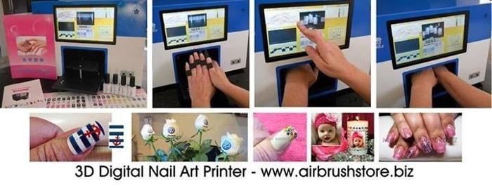 Nail Printers Airbrush Makeup Kits Airbrush Tattoo Kits Airbrush