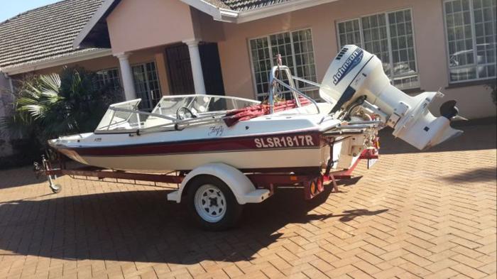 Neat Ski Boat for sale