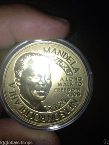 Nelson Mandela Gold Coin 2 Ounce