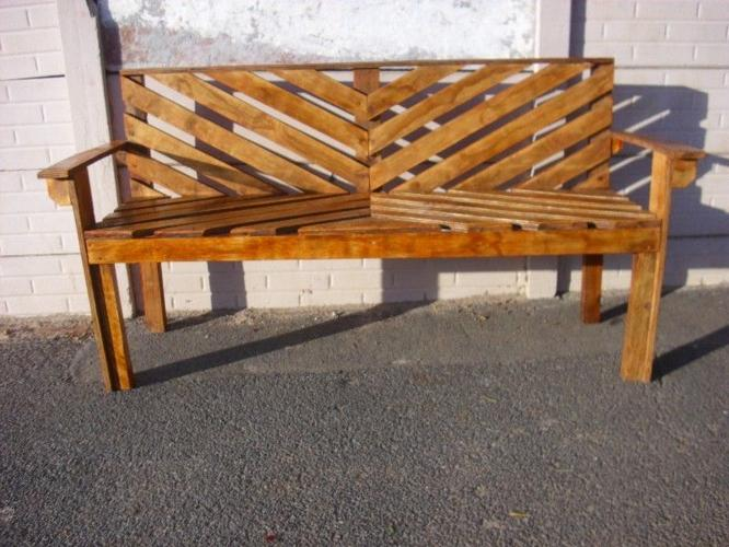 Fabulous New And Handmade Garden Benches For Sale In Cape Town Bralicious Painted Fabric Chair Ideas Braliciousco