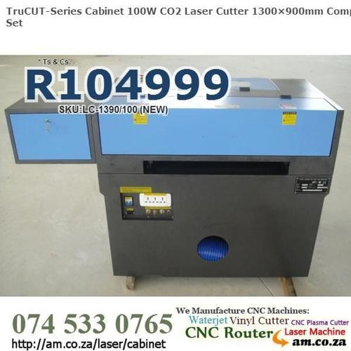 New Generation CNC CO2 Cabinet 100W Laser Cutter -