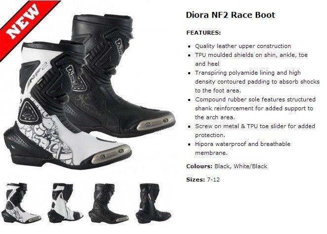 New race boots from the UK
