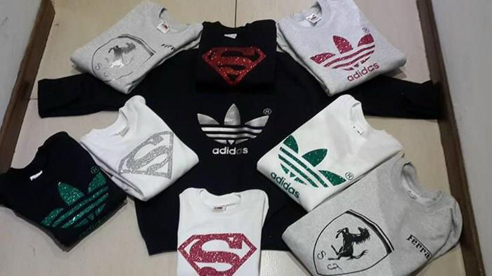 New range of kiddies and adults sweaters and hoodies