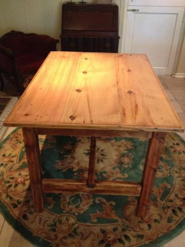 New renovated table