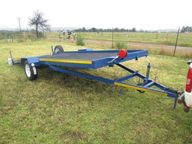 New Single Axle Tilt Car Trailer For Sale In Walkerville Gauteng