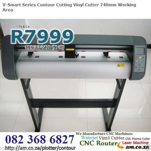 (NEW)Vinyl Cutter w.Contour Cutter, Direct USB Disk,LCD